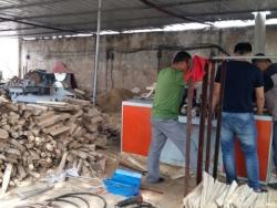 福建方木多片锯使用现场